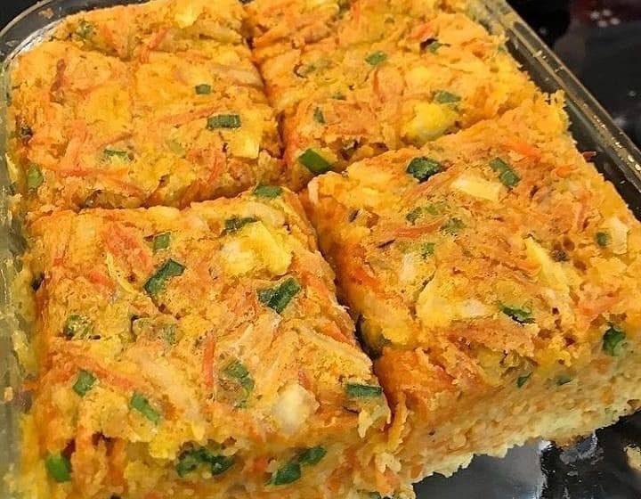 Receita Suflê de Cenoura prático e delicioso