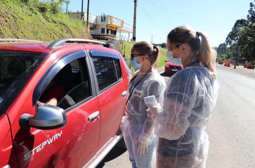 Barreiras Sanitárias são montadas visando a prevenção