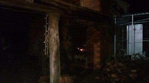 Incêndio destrói estufa de secagem de fumo em Irineópolis