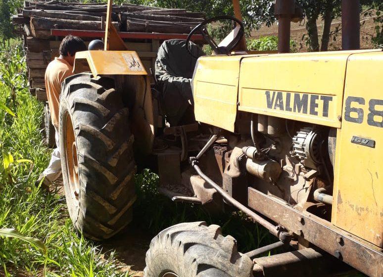 Agricultor morre após cair de trator em Antônio Olinto