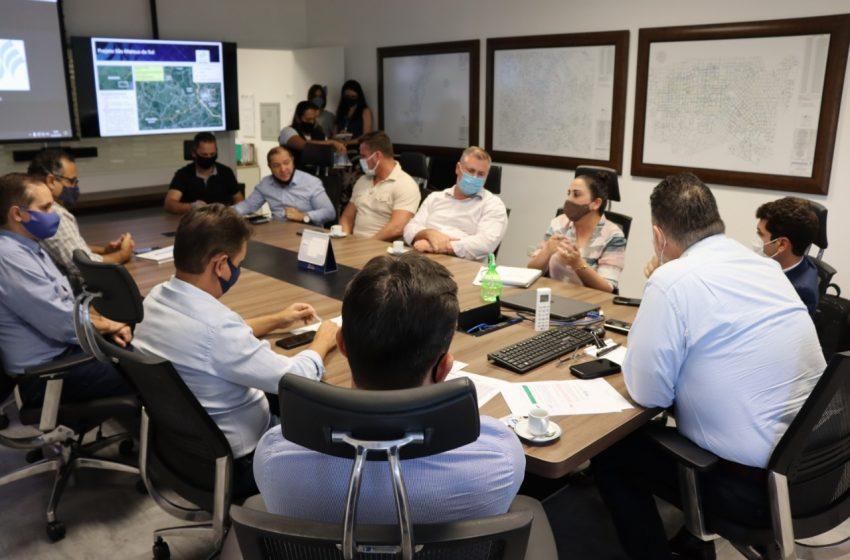 Lideranças políticas buscam investimentos para Área Industrial de São Mateus do Sul