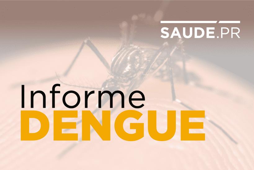 Informe da dengue registra 18 novos casos no Paraná