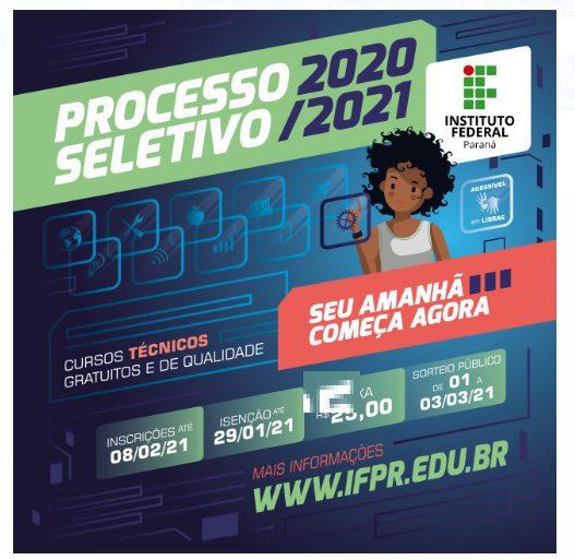 IFPR de União da Vitória está com edital aberto para cursos técnicos