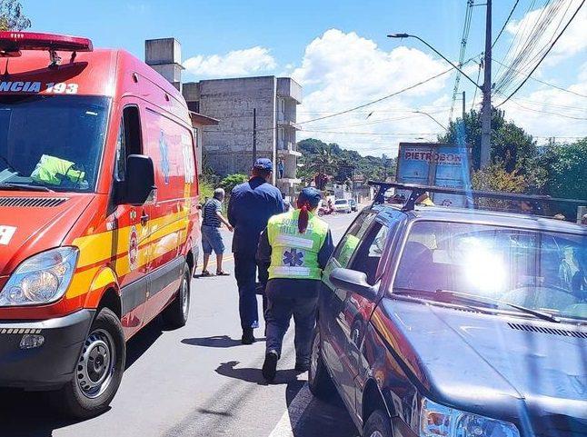 Menina de oito anos de idade é atropelada em Porto União