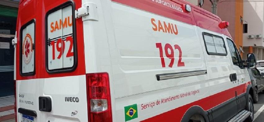 Bebê de 7 meses faleceu em transferência por ambulância de suporte básico do SAMU