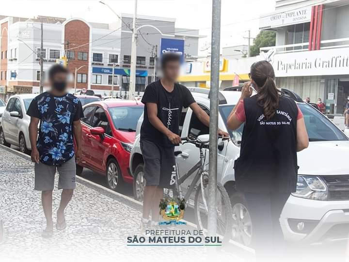 Multas e notificações começam a ser aplicadas em São Mateus do Sul