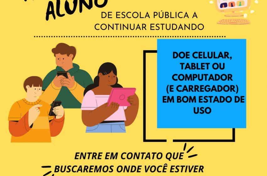 Computador é doado para aluno de General Carneiro pelo CEJUSC de União da Vitória