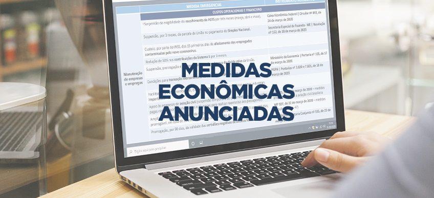 Novas medidas econômicas para auxiliar população são anunciadas pelo governo