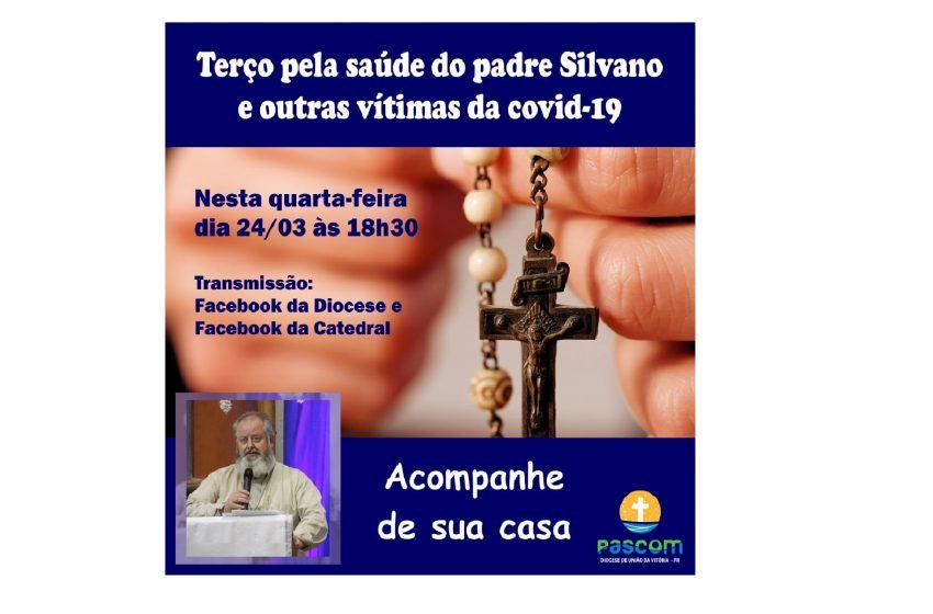 Terço pela saúde do padre Silvano e outras vítimas da covid-19