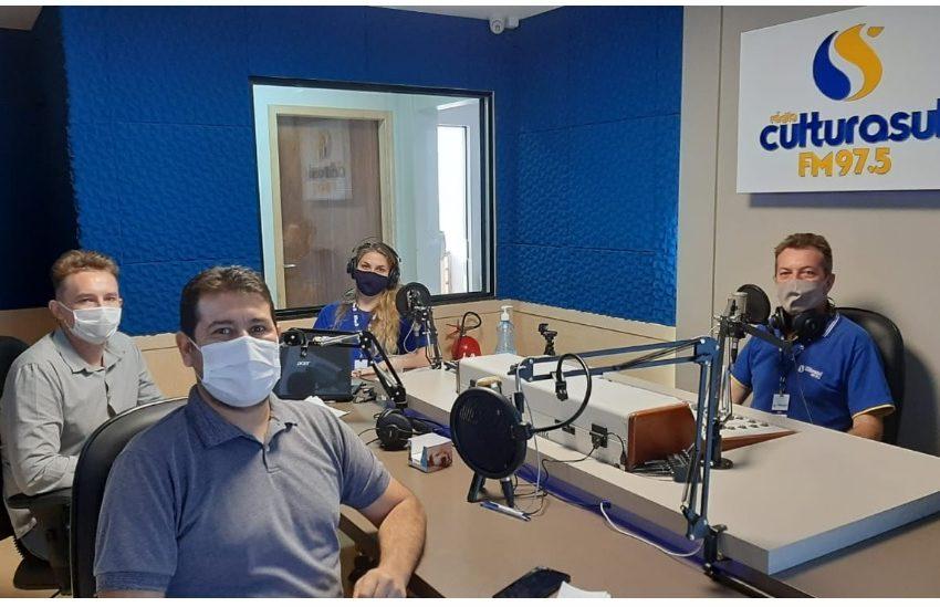 Prefeito Alan e secretário Irajá Raphael trouxeram informações para Antônio Olinto e região.