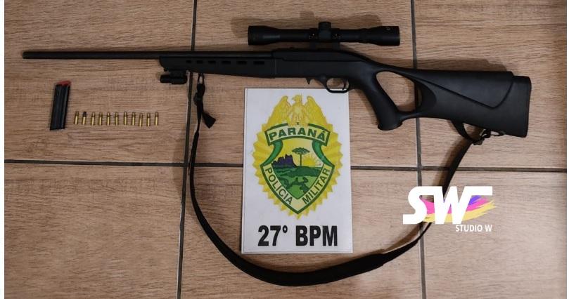 Filho ameaça atirar e agride pai por demanda relacionada à plantação de soja