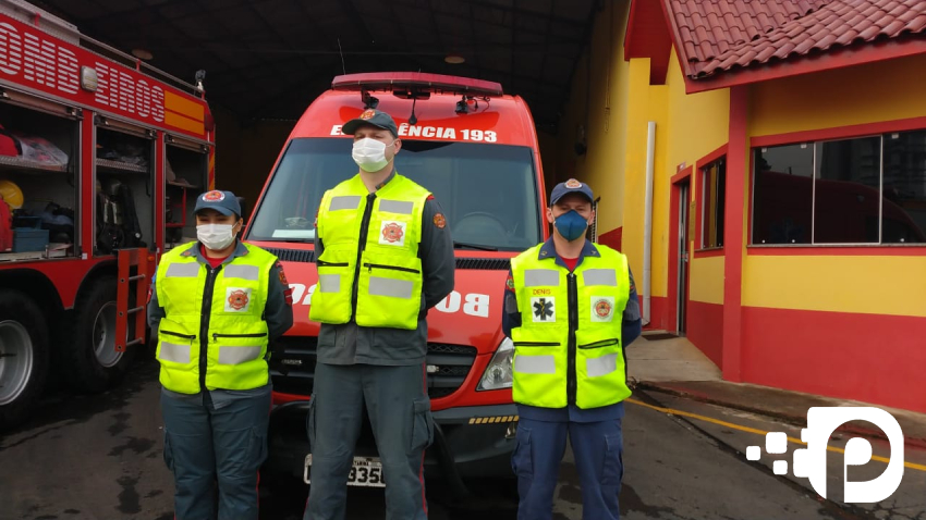 Corpo de Bombeiros de Canoinhas conduz parto dentro de ambulância