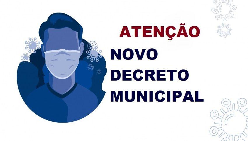 Prefeitura lança novo decreto com alterações no enfrentamento a pandemia