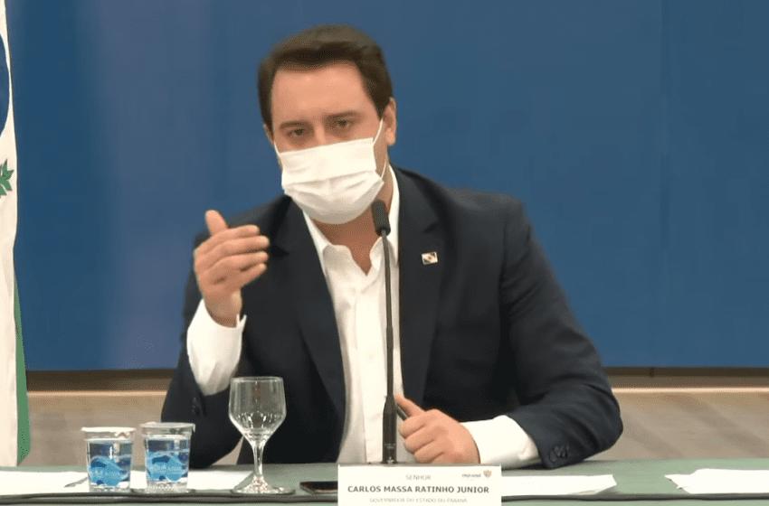 COVID-19: Governador prorroga restrições e toque de recolher