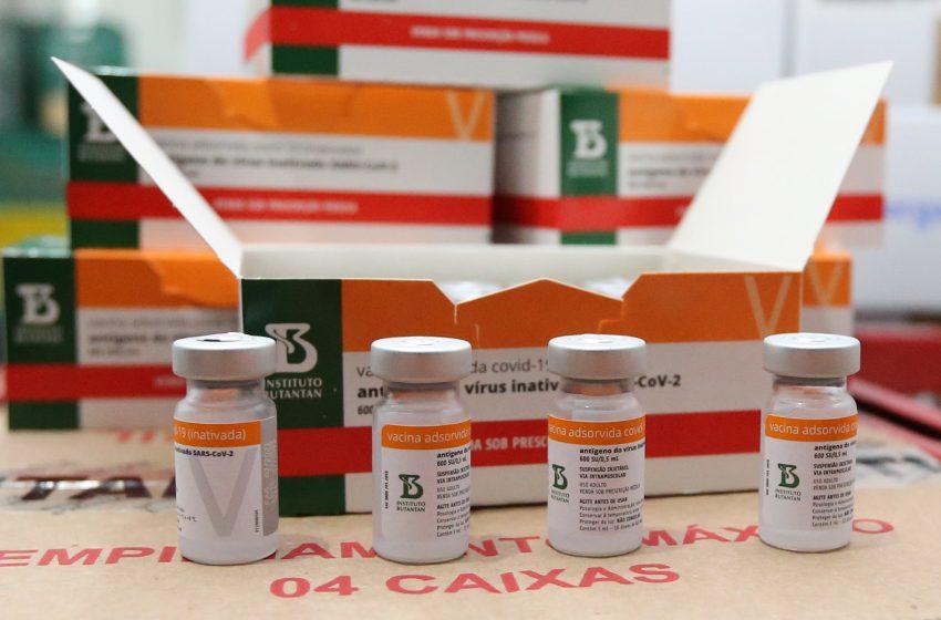Paraná receberá mais 146,8 mil doses de vacinas contra Covid-19