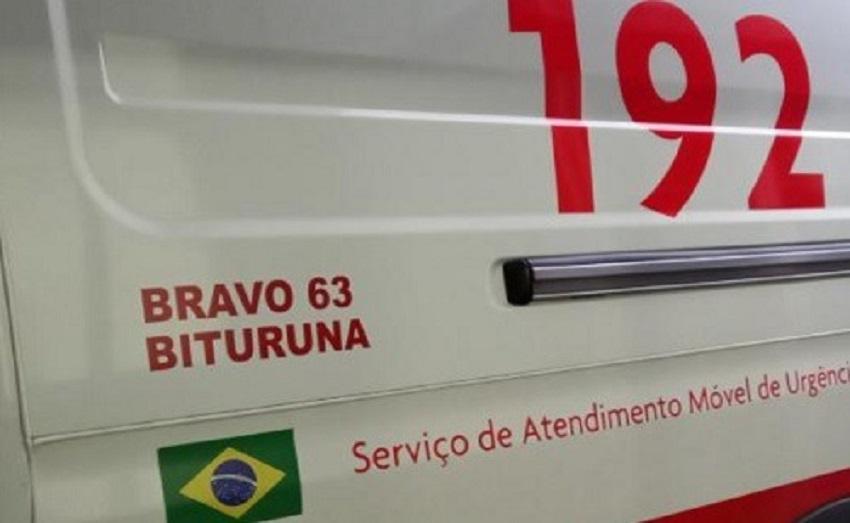 SAMU realiza parto dentro de ambulância entre Bituruna e União da Vitória