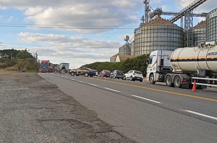 Urgente: óbito é registrado em um grave acidente na BR-476 entre Lapa e São Mateus do Sul