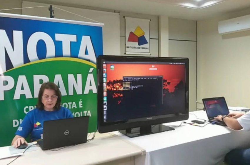 Sorteio do Nota Paraná dá premio de um milhão e 20 mil para 10 instituições