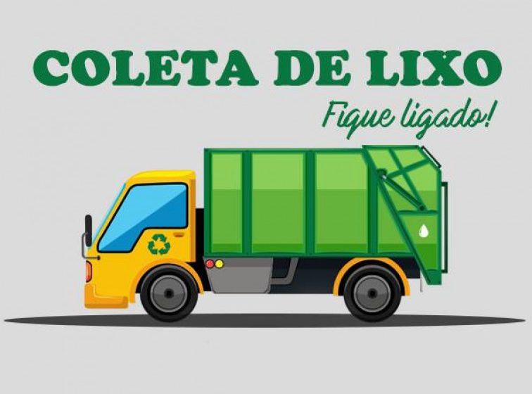 Atenção: mudança nos dias de coleta de lixo