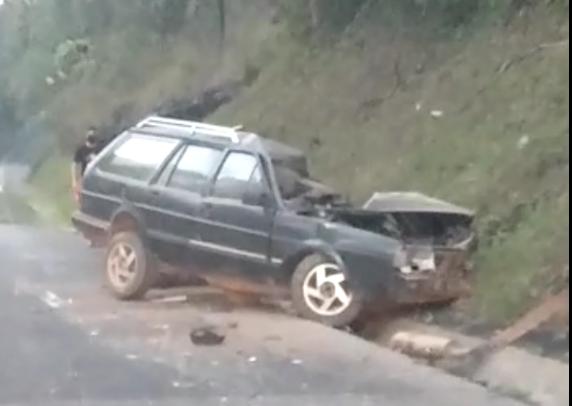 Motorista morre após colisão na BR-476