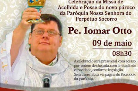 São Mateus do Sul recebe novo pároco, padre Iomar Otto