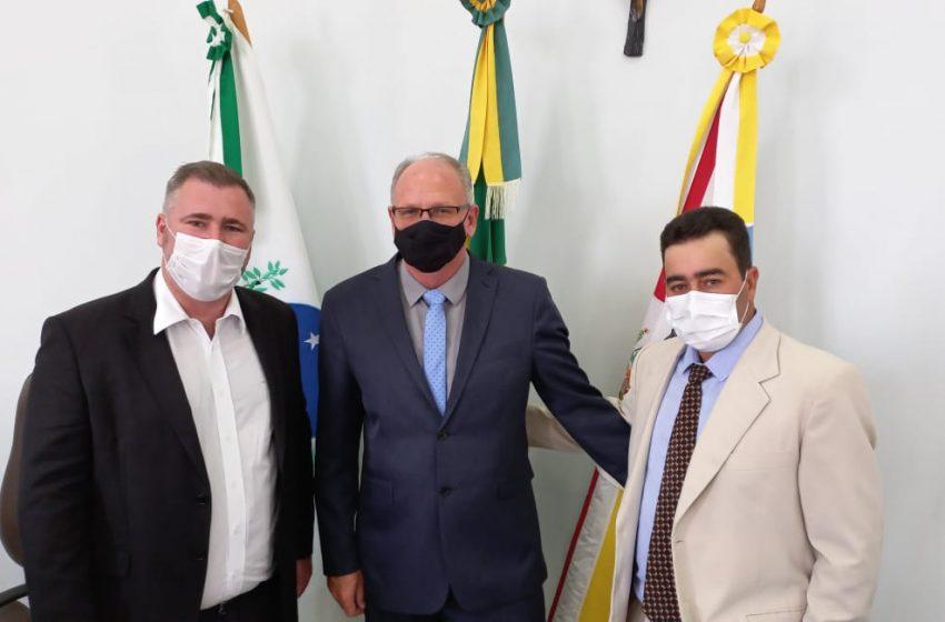 Prefeito de Guamiranga toma posse do mandato e inicia gestão municipal