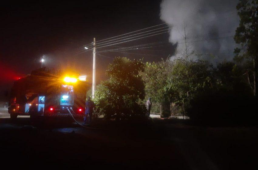 Idosa morre carbonizada num incêndio no interior de Porto União
