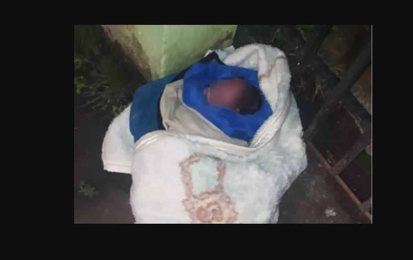 Bebê abandonada no portão de uma casa é salva pelo morador em Curitiba; confira o vídeo