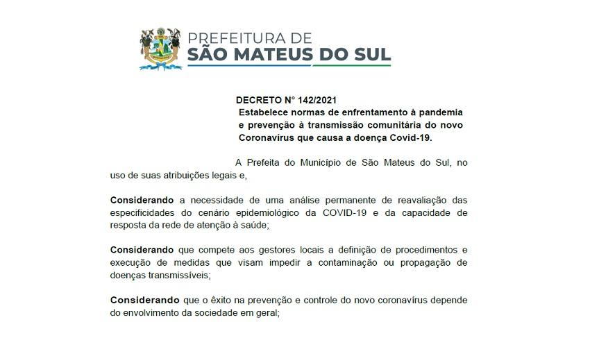 """Novo Decreto estabelece normas para """"isolamento e evitar transmissão da Covid-19"""""""