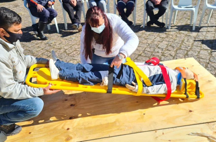 Profissionais do SAMU-CISVALI participaram de treinamento focado em atendimento de trauma em São Mateus do Sul e União da Vitória