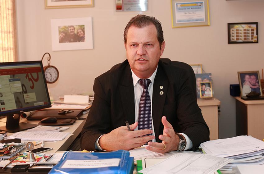 Aldo Bona foi internado por complicações da Covid-19, segundo portal de Guarapuava