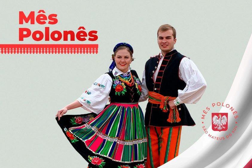 Mês de agosto é o mês Polonês em São Mateus do Sul