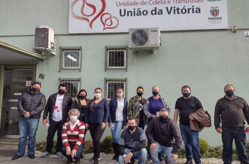 Na próxima semana um grupo irá até União da Vitória realizar doação de sangue, há vagas