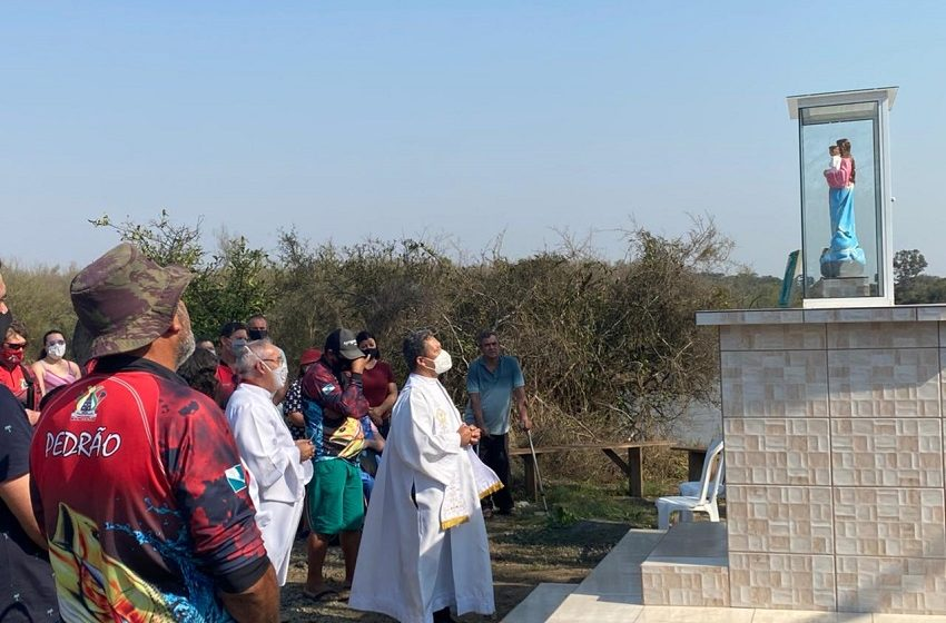 Vila Amaral se une para criar Praça com Capela para Nossa Senhora dos Navegantes