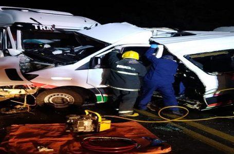 Paciente, acompanhante e motorista morrem num acidente com ambulância em SC