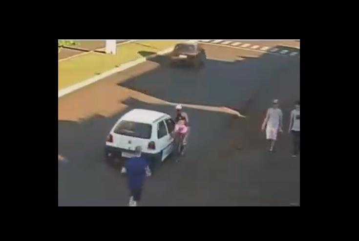 Suspeito de assediar ciclista no PR é preso em flagrante