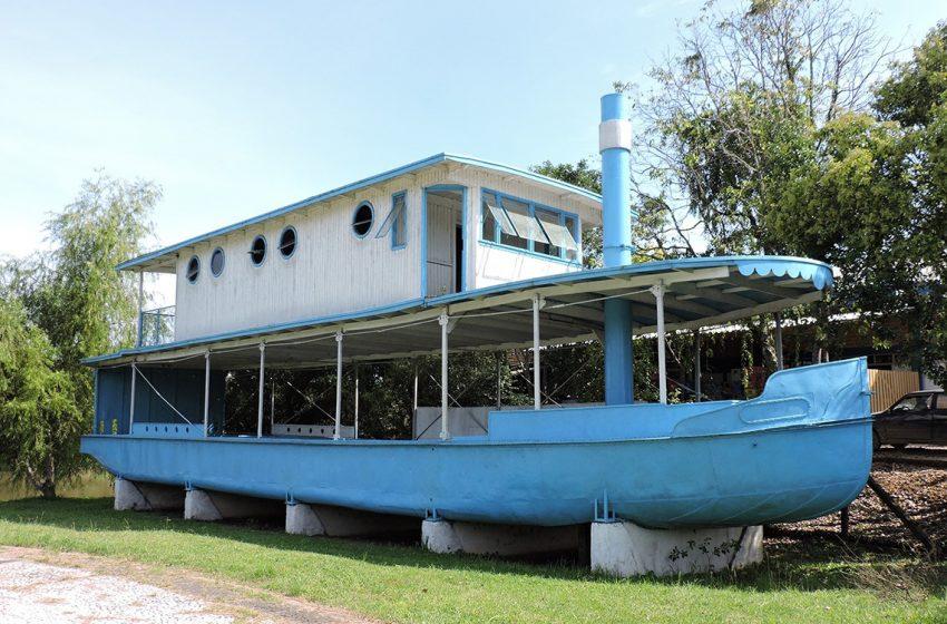Navegação no rio Iguaçu transportou pessoas e mercadorias, passando por SMS
