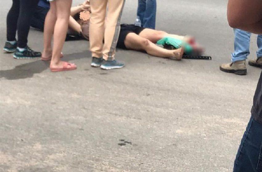 Briga entre casal termina com mulher atropelada no PR