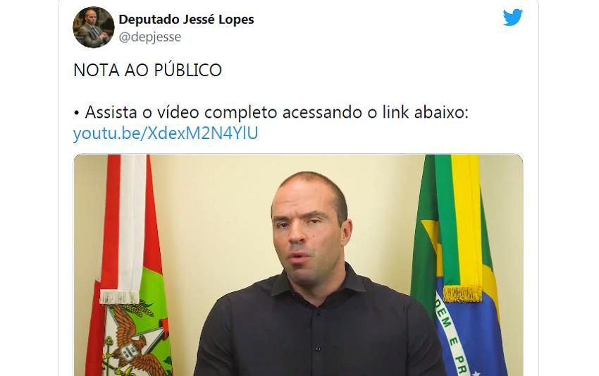 Deputado catarinense recebe ex-marido de Maria da Penha e causa nova polêmica