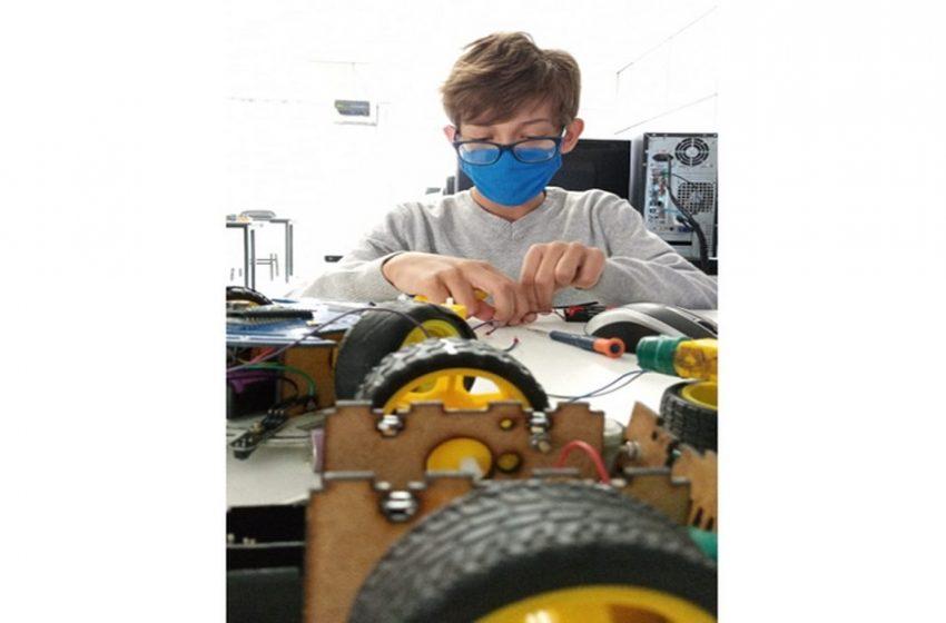 Curitibano de 10 anos ganha medalha de ouro na Olimpíada Brasileira de Robótica
