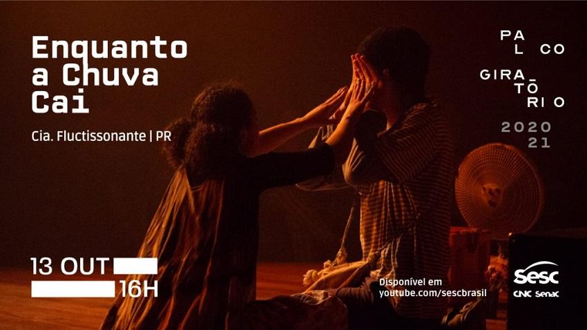 Sesc anuncia programação teatral acessível online e gratuita, com inclusão de pessoas surdas