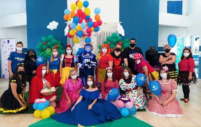 Cultura Sul esteve com o Culturito em vários eventos alusivos ao Dia das Crianças em São Mateus do Sul