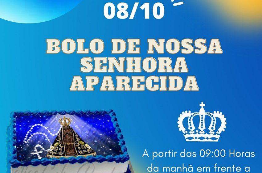 Paróquia de Triunfo vende bolo de Nossa Senhora Aparecida, nesta sexta-feira (08/10)