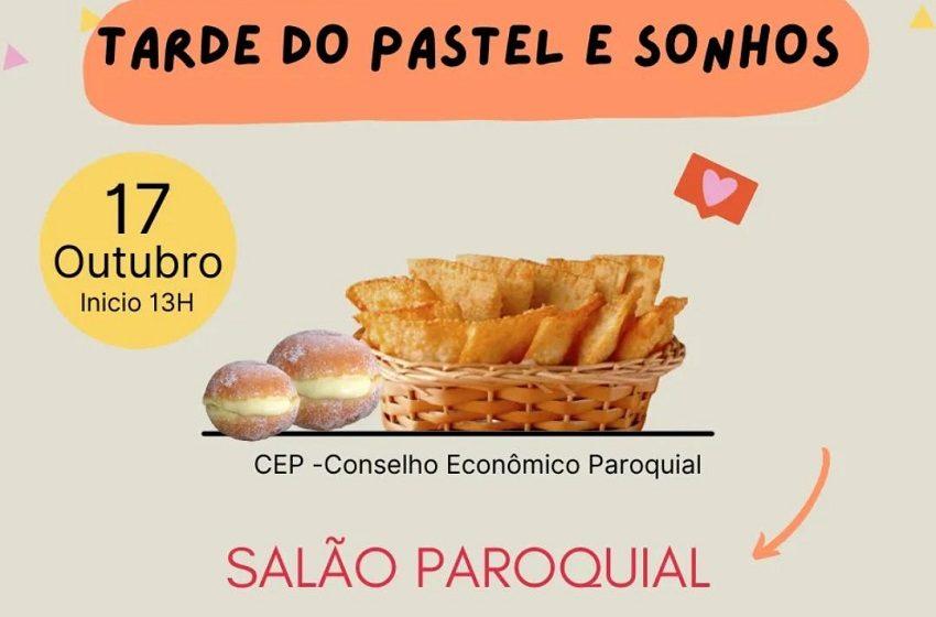 Paróquia de São João do Triunfo promove tarde do pastel e sonho, neste domingo