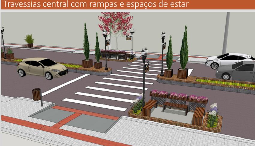 Proposta de revitalização da Avenida Ozy Mendonça de Lima é apresentada